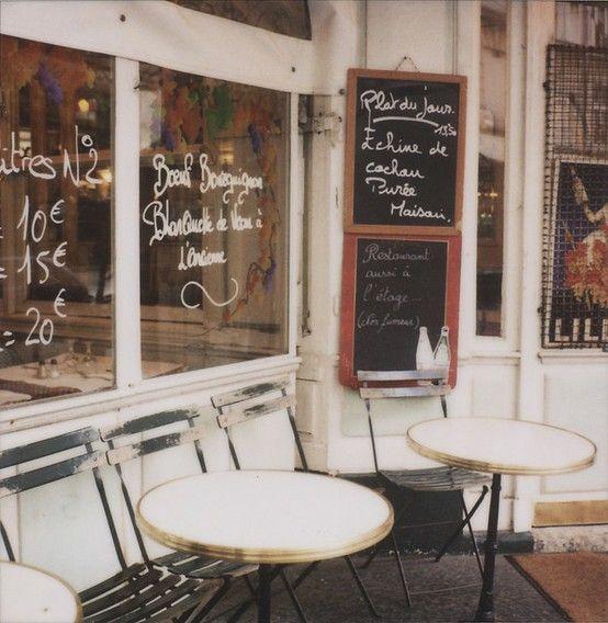 Parisian cafe #missKL #SpringtimeinParis