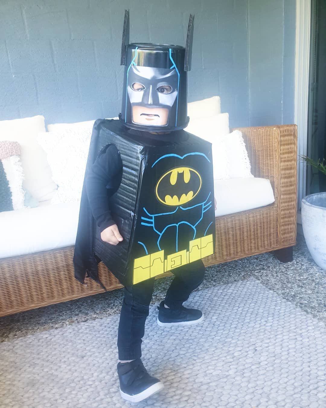 Our Thayne As Lego Batman For Book Week At Kindy Today We Asked What He Wanted To Be For Book Week He Responded With Lego Batman Diy Lego Batman Happy Boy Lego batman bathroom decor
