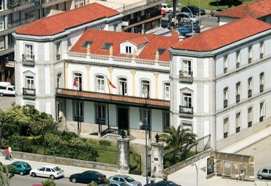Vista de la Casa de las Cuatro Témporas.