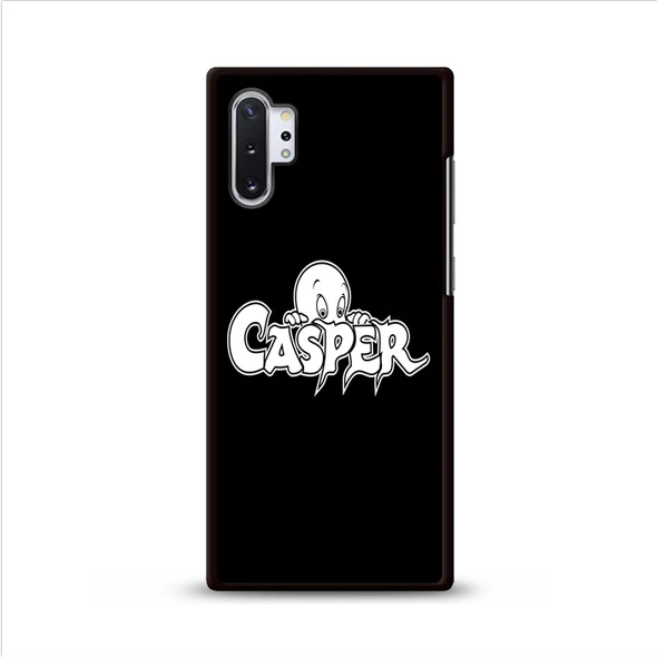 Casper Cartoon Logo Samsung Galaxy Note 10 Plus Cases | Rowlingcase