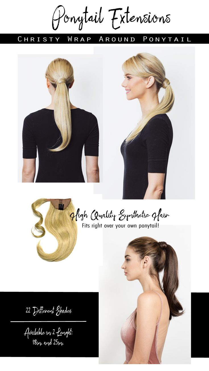 Christy 18 Wrap Around Ponytail Extension Soho Hair Extensions