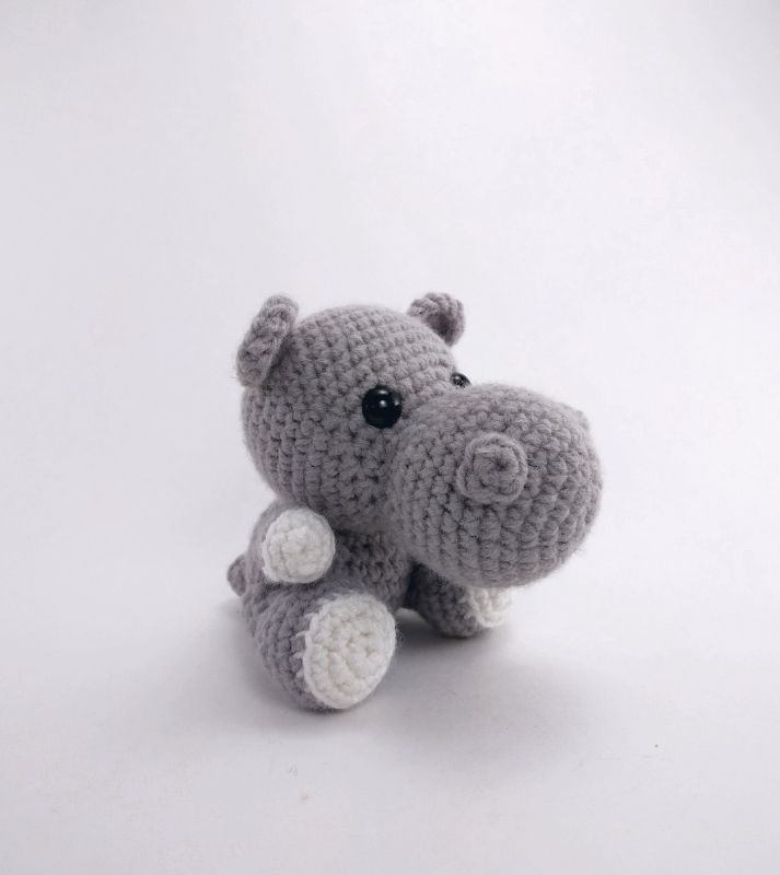 Hailey The Hippo Amigurumi Pattern | Crochet/Knit | Pinterest ...