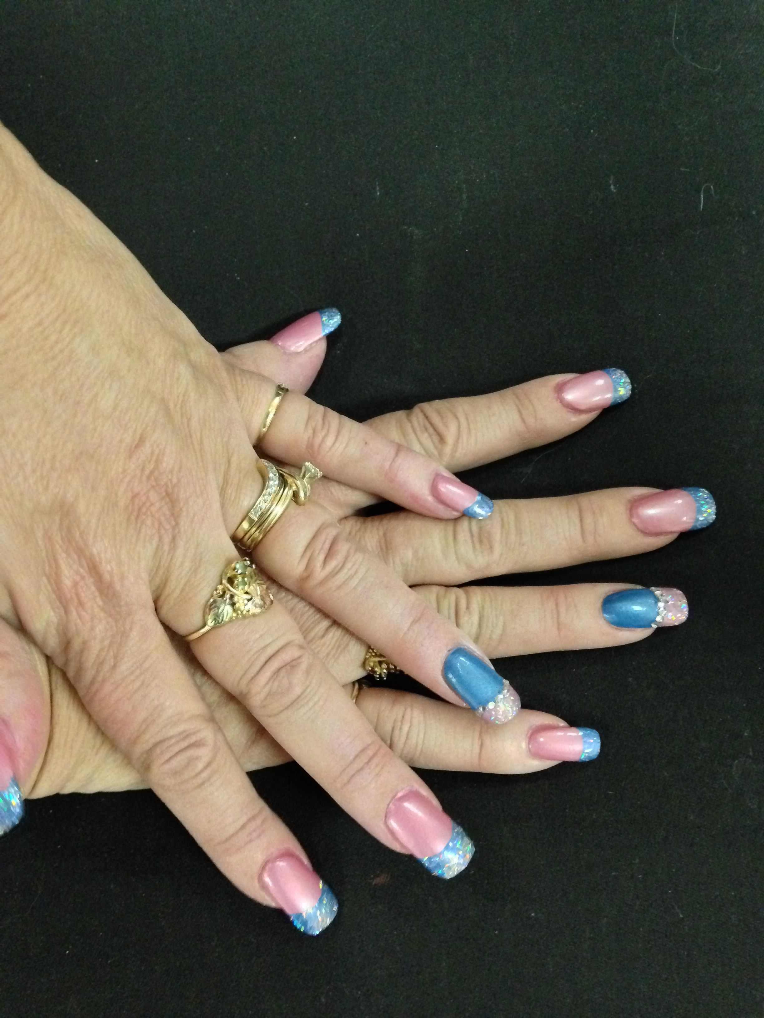 Great Idea For Baby Shower Nail Art