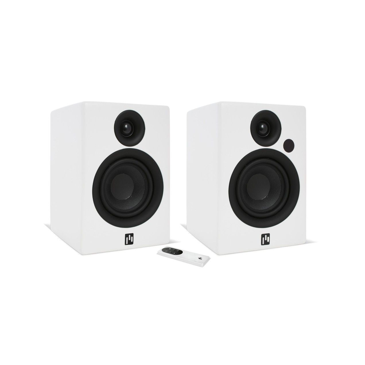 bookshelf kef black front pair speaker speakers wireless