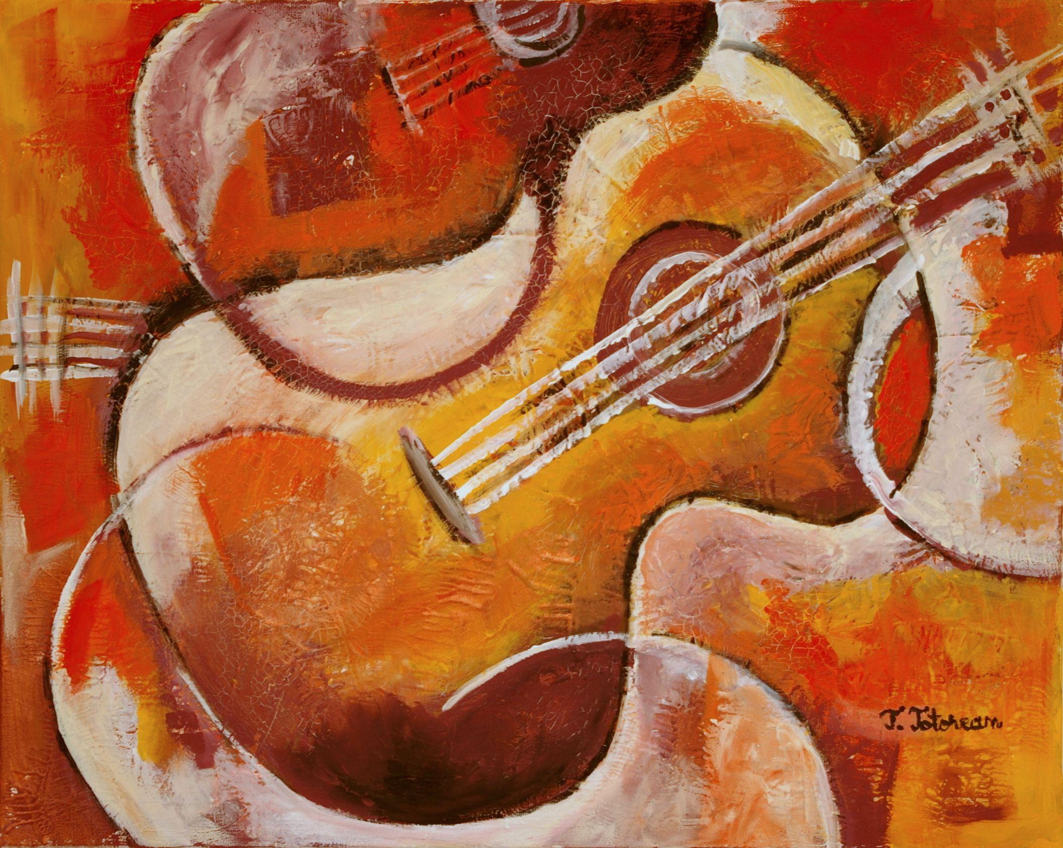 Spanish Guitar...... a musica mais linda Guitar art