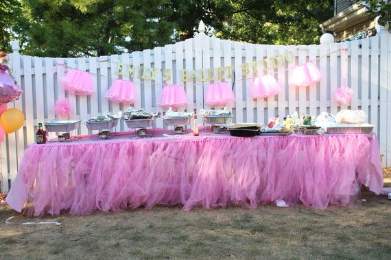 Peachy Tutu Table Skirt Candy Buffet Table Skirt Tulle Table Download Free Architecture Designs Ferenbritishbridgeorg