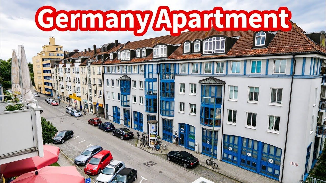 Living in Germany - MUNICH APARTMENT TOUR | Accommodation ...