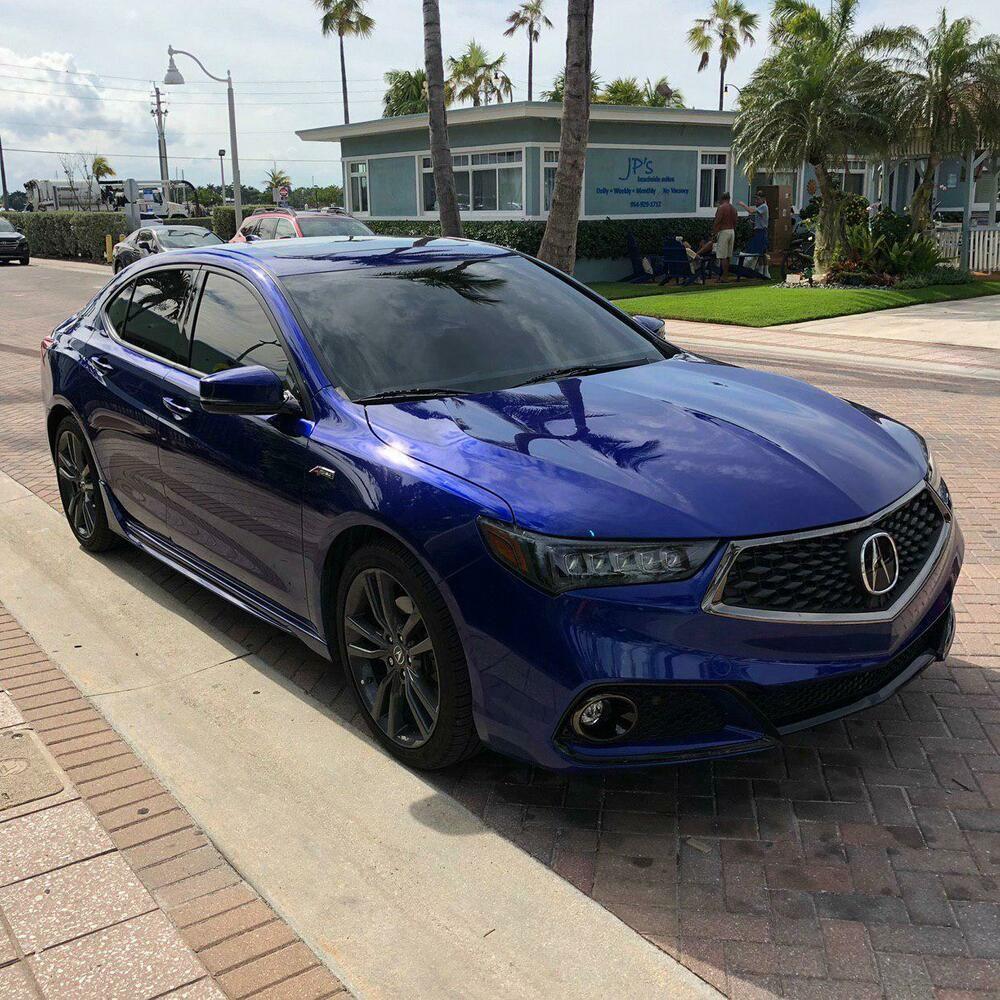 (eBay Advertisement) 2018 Acura TLX Aspec 2018 Acura TLX A