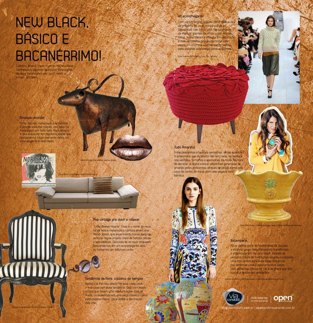 """Campanha: """"Design is the new black"""" – Redação e conceito criativo: Delan Salazar – Direção de arte: Fábio Borges – Agência: GP3 Comunicação"""