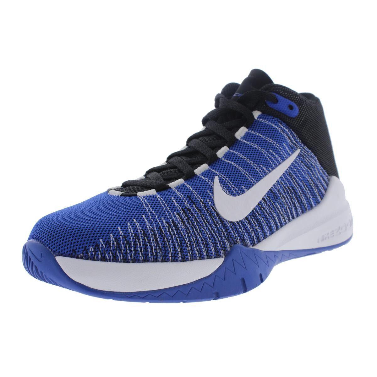 e53a39333231c2 Nike Boys Zoom Ascention Mesh Basketball Shoes