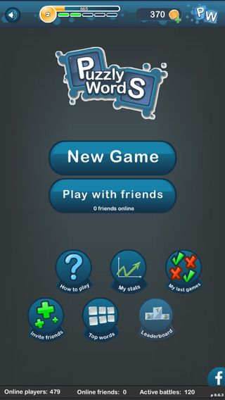 iPhone Screenshot 1 Unscramble words, Online friends, Words