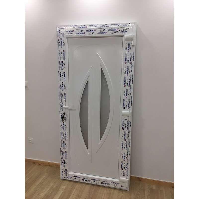 Danube plastic Entrance door 98x208cm # white