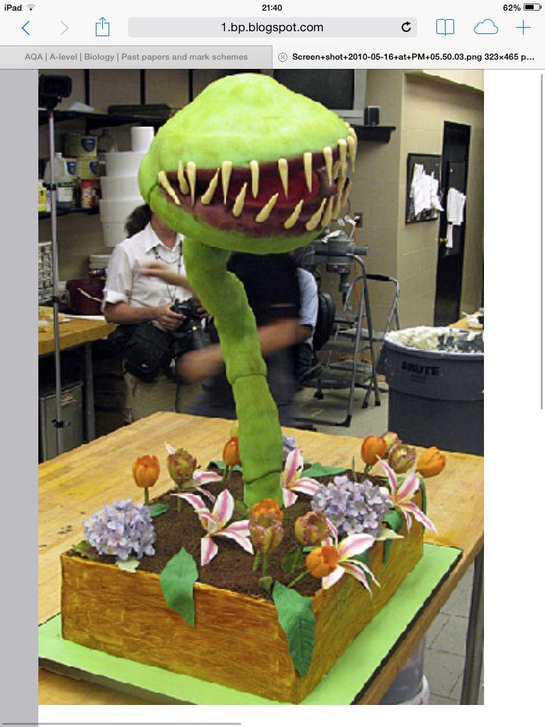 Feed Me Seymour Cake Boss Professional Cake Decorating Cake Boss Buddy