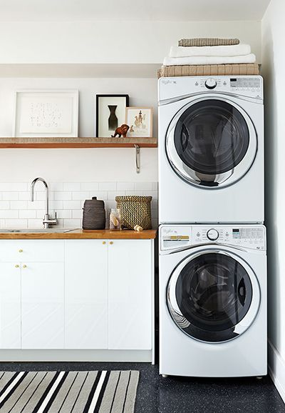 Laundry room makeover and renovation - Chatelaine.Photo, Erik Putz. Prop styling, Emma Reddington