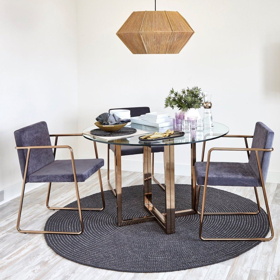 Just because you live in a small space doesnt mean you cant · confidence boostdining room setstiny