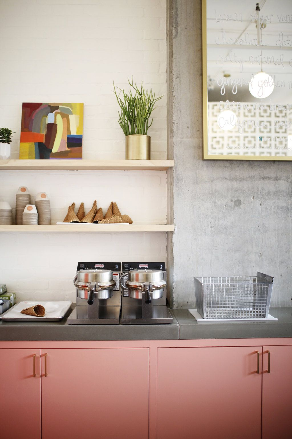A Vegan Ice Cream Shop Sweetly Styled in Seattle, WA | Design*Sponge