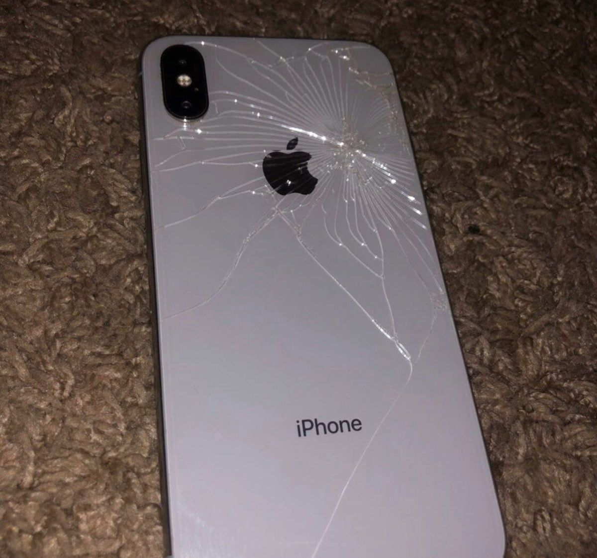 Iphone X Broken strictly for parts   Apple iphone accessories ...