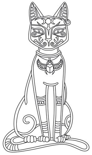 This ancient Egyptian cat goddess was known for her