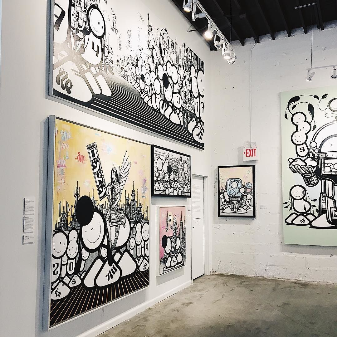 Discovering art at the Wynwood Walls Gallery. #thelondonpolice #miami