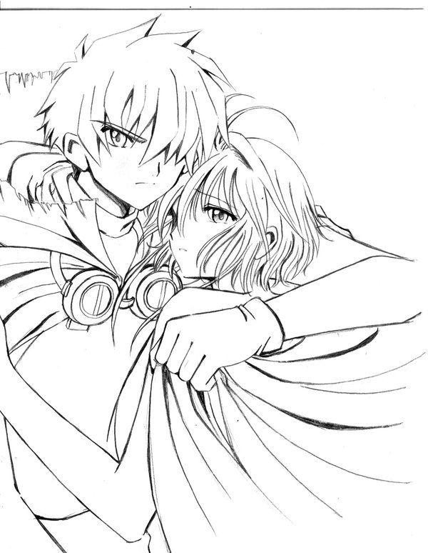 TRC Syaoran Sakura Sketch by barbypornea.deviantart.com on ...