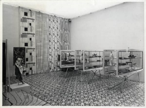 X Triennale - Mostra dell'E.N.A.P.I. - Allestimento