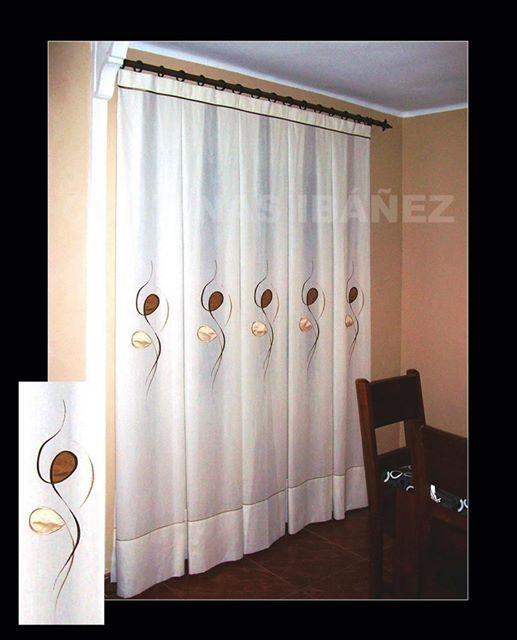 Pin de cortinas iba ez en cortinas ib ez pinterest for Tejidos y novedades paredes