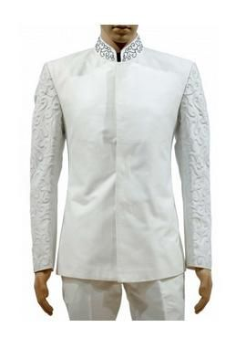 a125a1744 White Light Western Embroidered Jodhpuri With Narrow Fit Trouser -  http   bit.