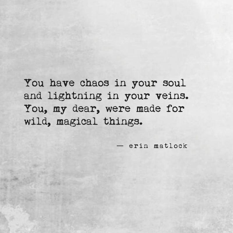 Erin Matlock Poetry