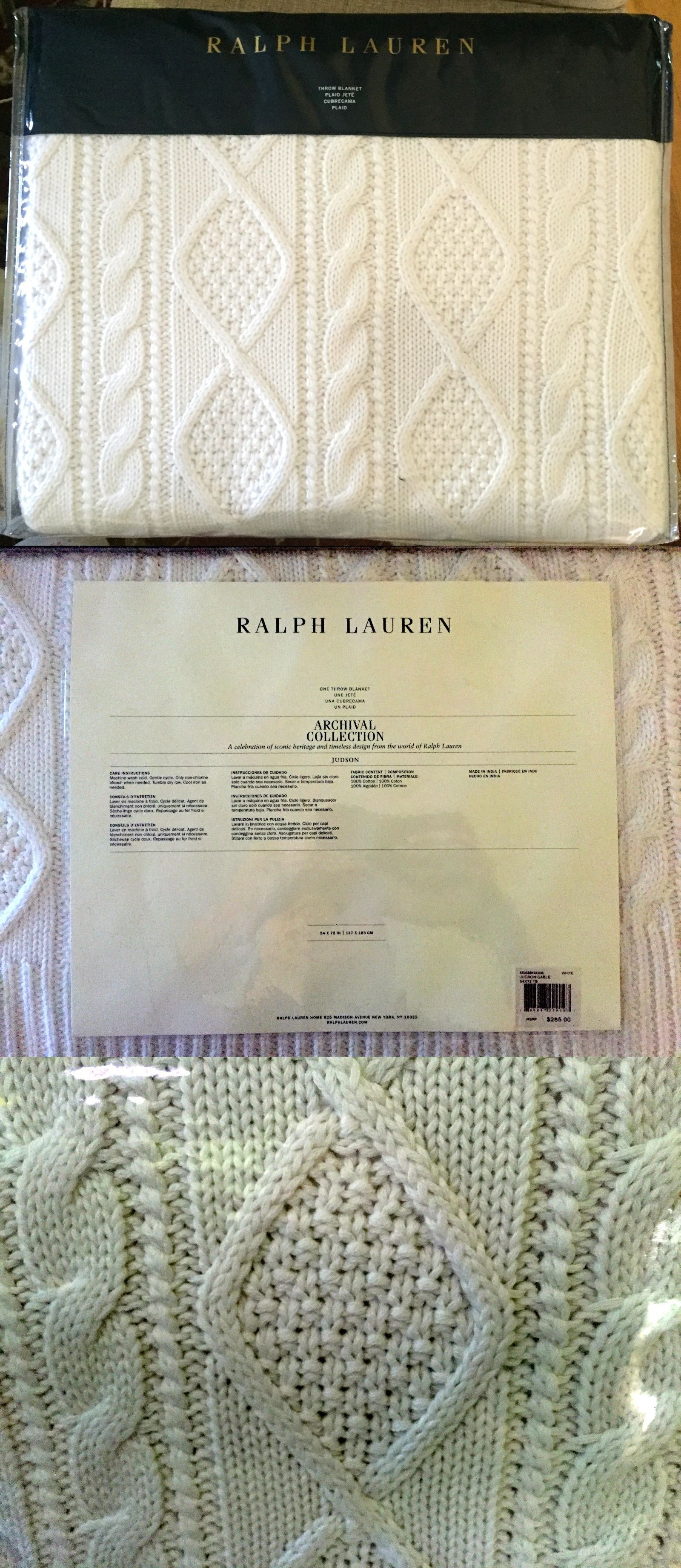 Blankets and throws new ralph lauren home archival