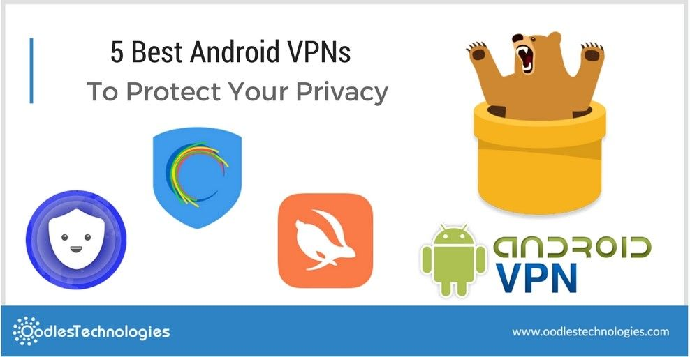 Here is a list of the top 5 android vpns for safeguarding