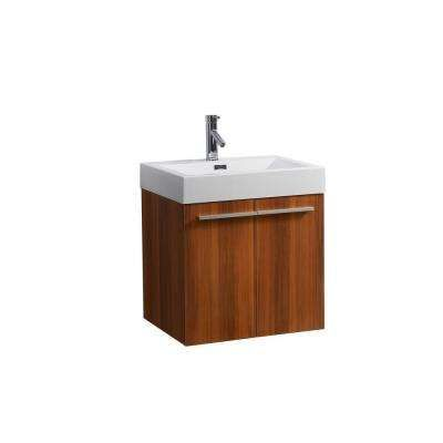 Picture Gallery Website Midori in Single Basin Bathroom Vanity in Plum with Poly