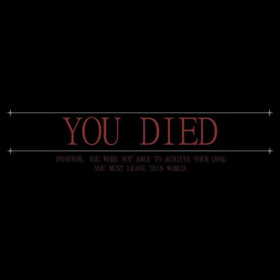 Resultado de imagem para demon souls you died