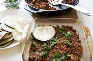 Beef & Eggplant Lasagna. No carb.  @SlimChoice