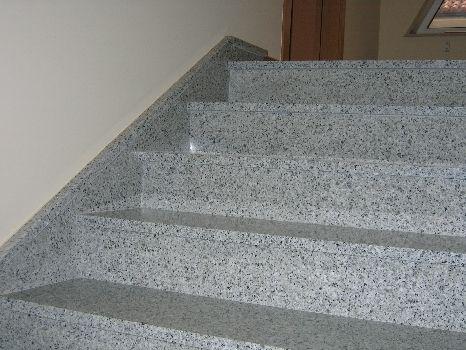 Escalera En Granito Granito Gris Granito Y Escaleras