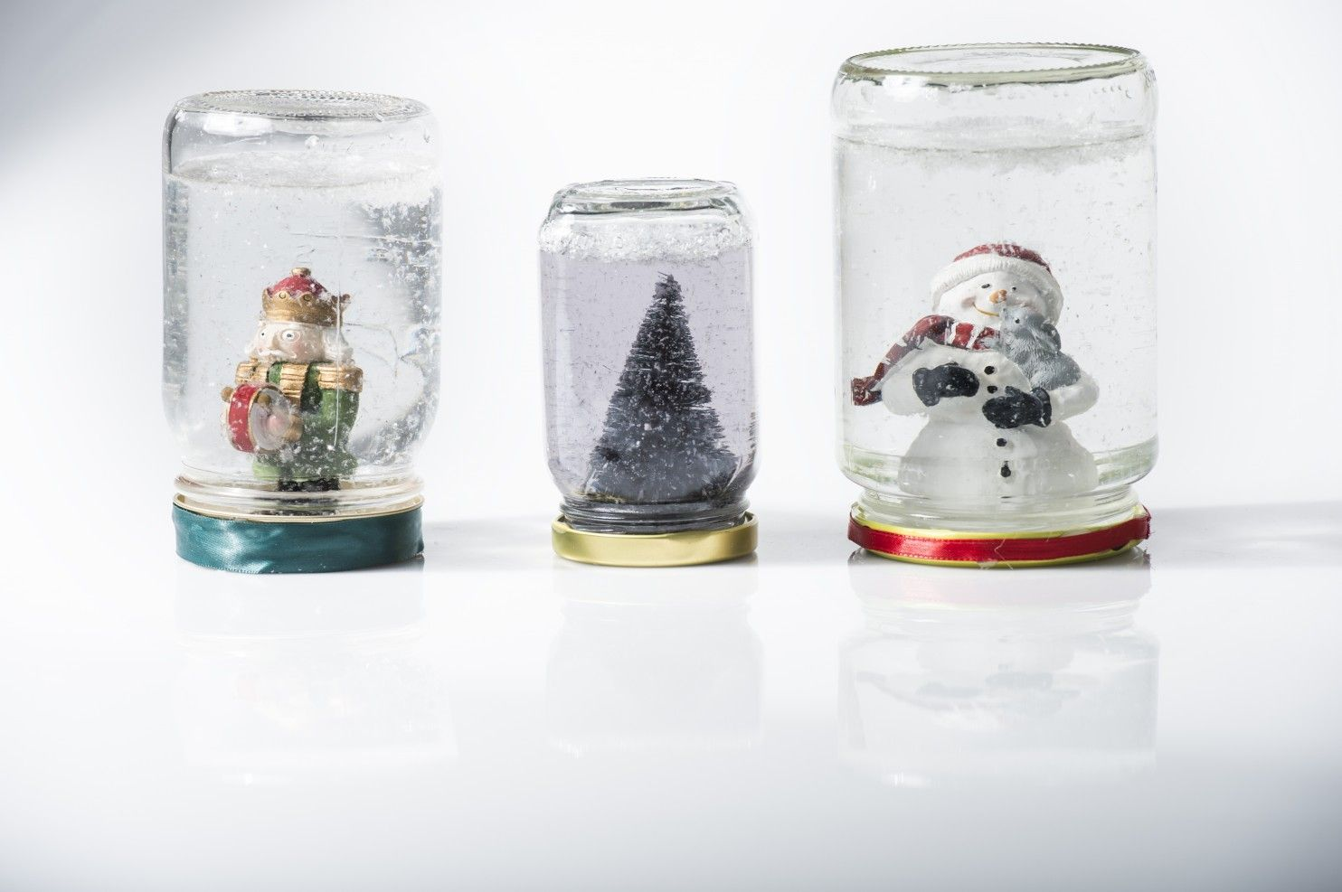 Hoping For Snow Make A Wintry Scene With These Snow Globes