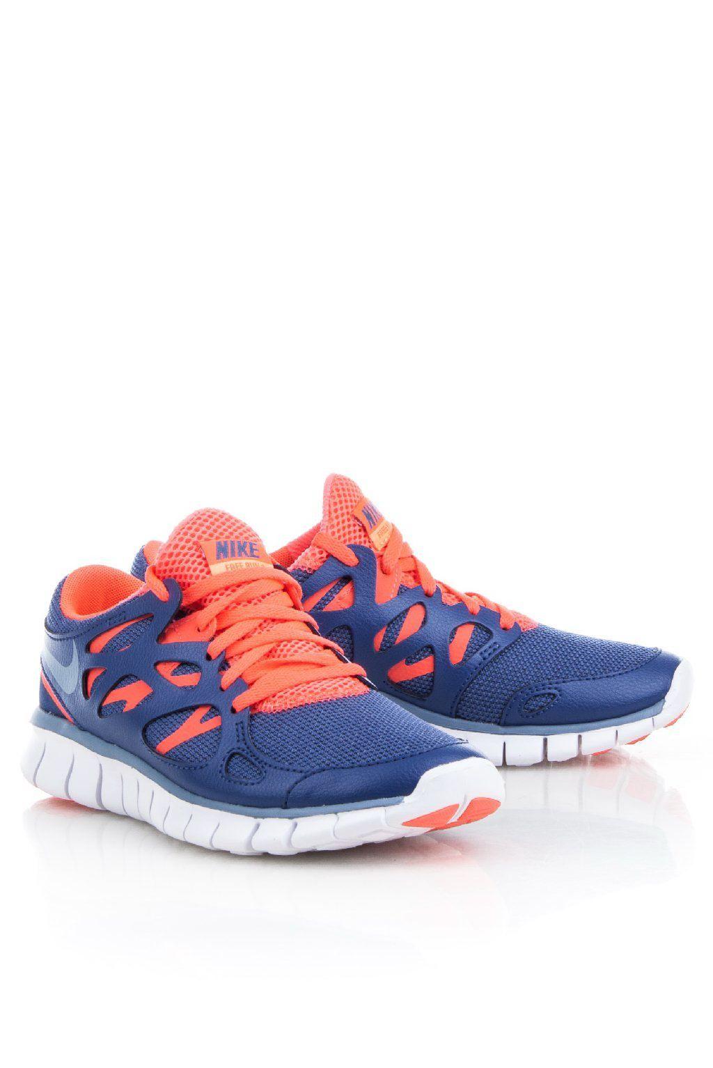 nike free run blauw