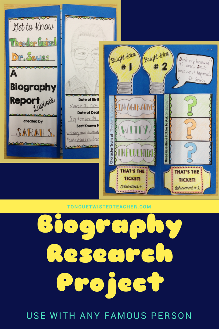 what are the components of a biography