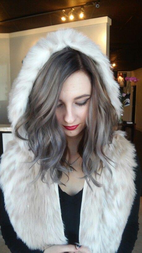 Instagram.com/merrgg gray hair silver ice pastel blue light fur ...