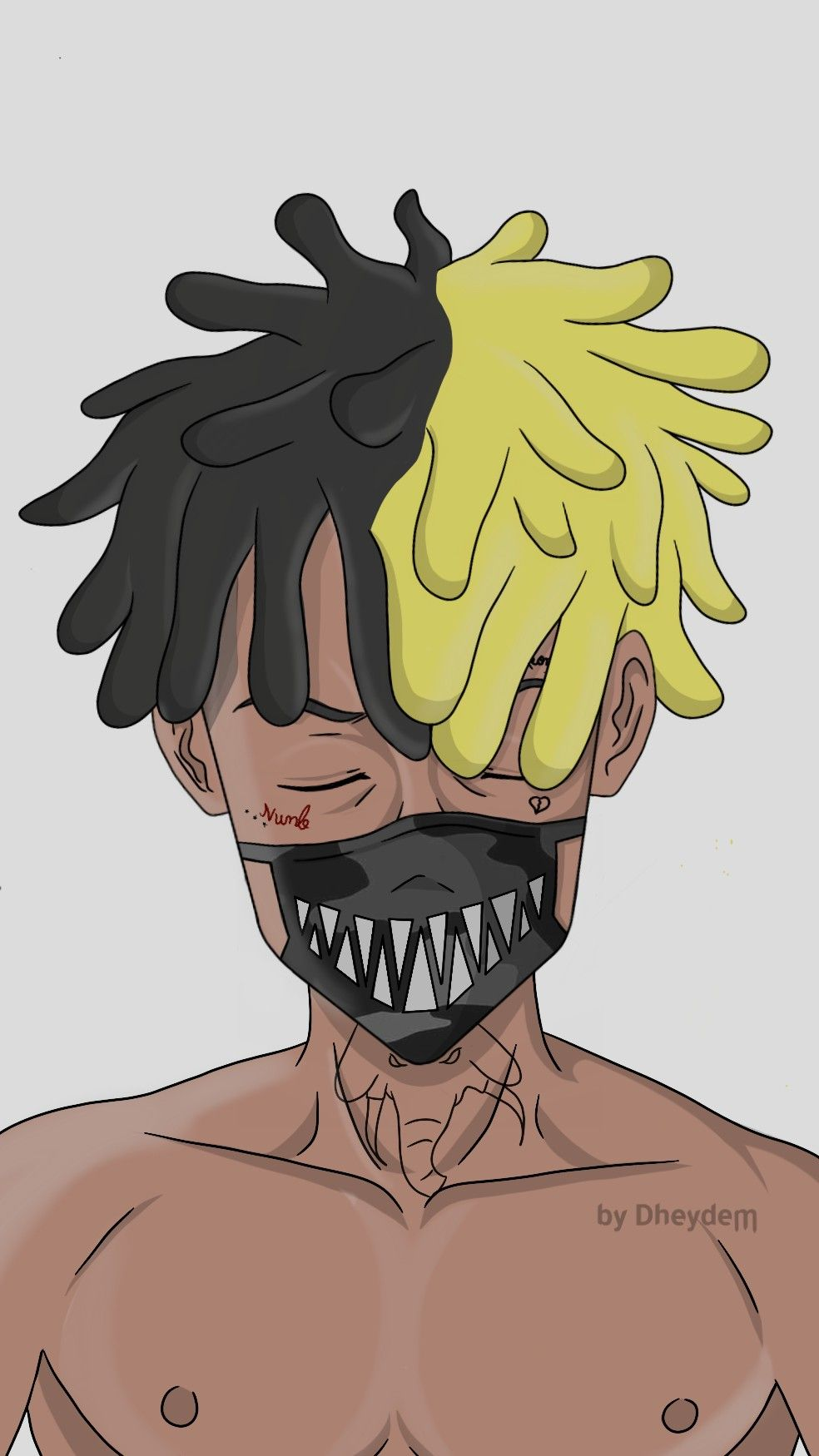 Trap , Xxxtentacion , Rap , Wallpaper , Anime -6103