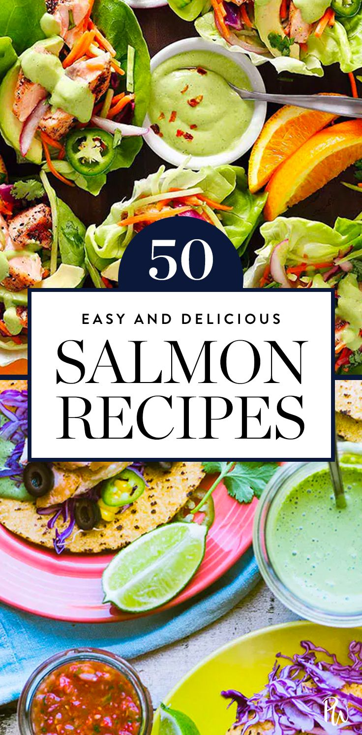 50 Salmon Recipes to Make for Breakfast, Lunch and Dinner #purewow #recipe #food #fish #cooking