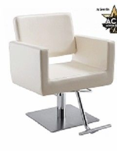 Draper White Salon Chair Salon Styling Chairs Salon Chairs For Sale Hairdressing Chairs