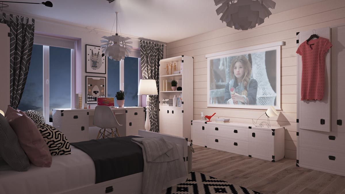 7 Beautiful Examples To Help You Design A Room For A Young Girl ...