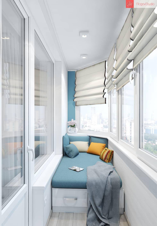 Balcon, veranda & terrasse scandinaves par rogovstudio scandinave | homify