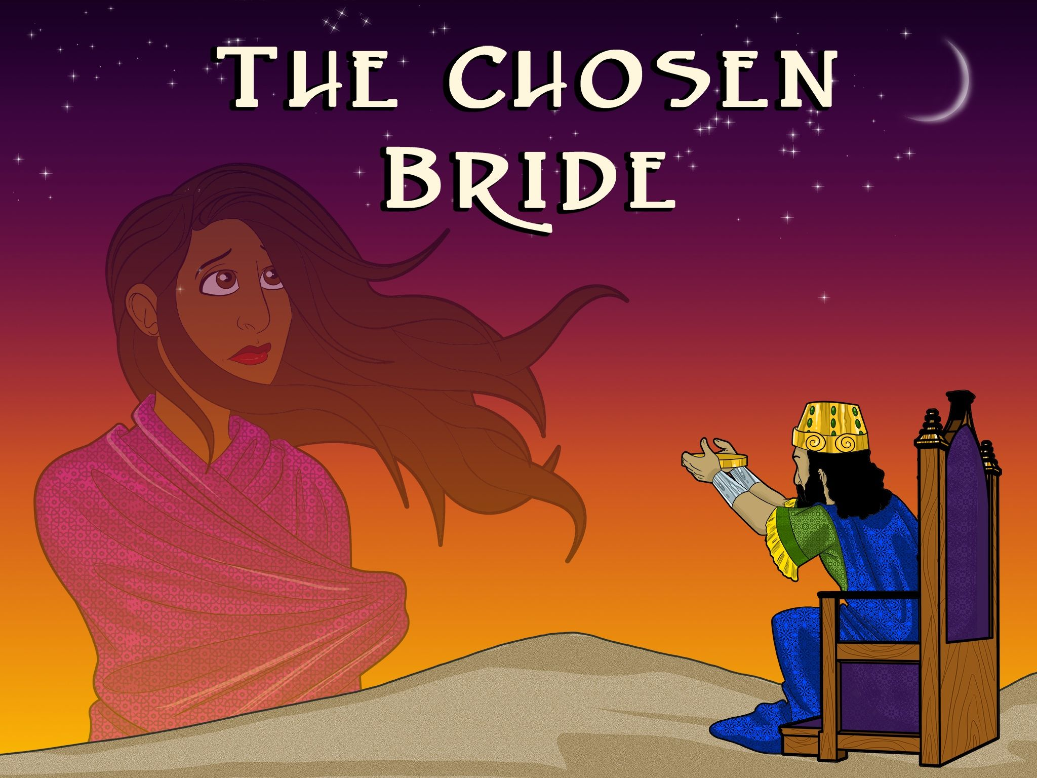 Bible Story for Kids: Esther - The Chosen Bride | Bible stories and ...