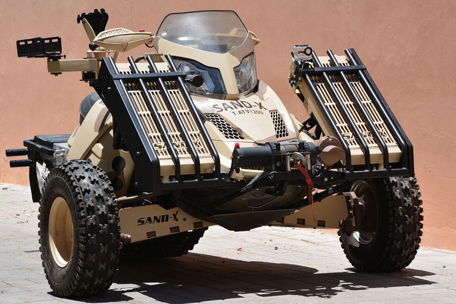 Sand X Military Atv Frankensteins Tactical Vehicles Man Of Many