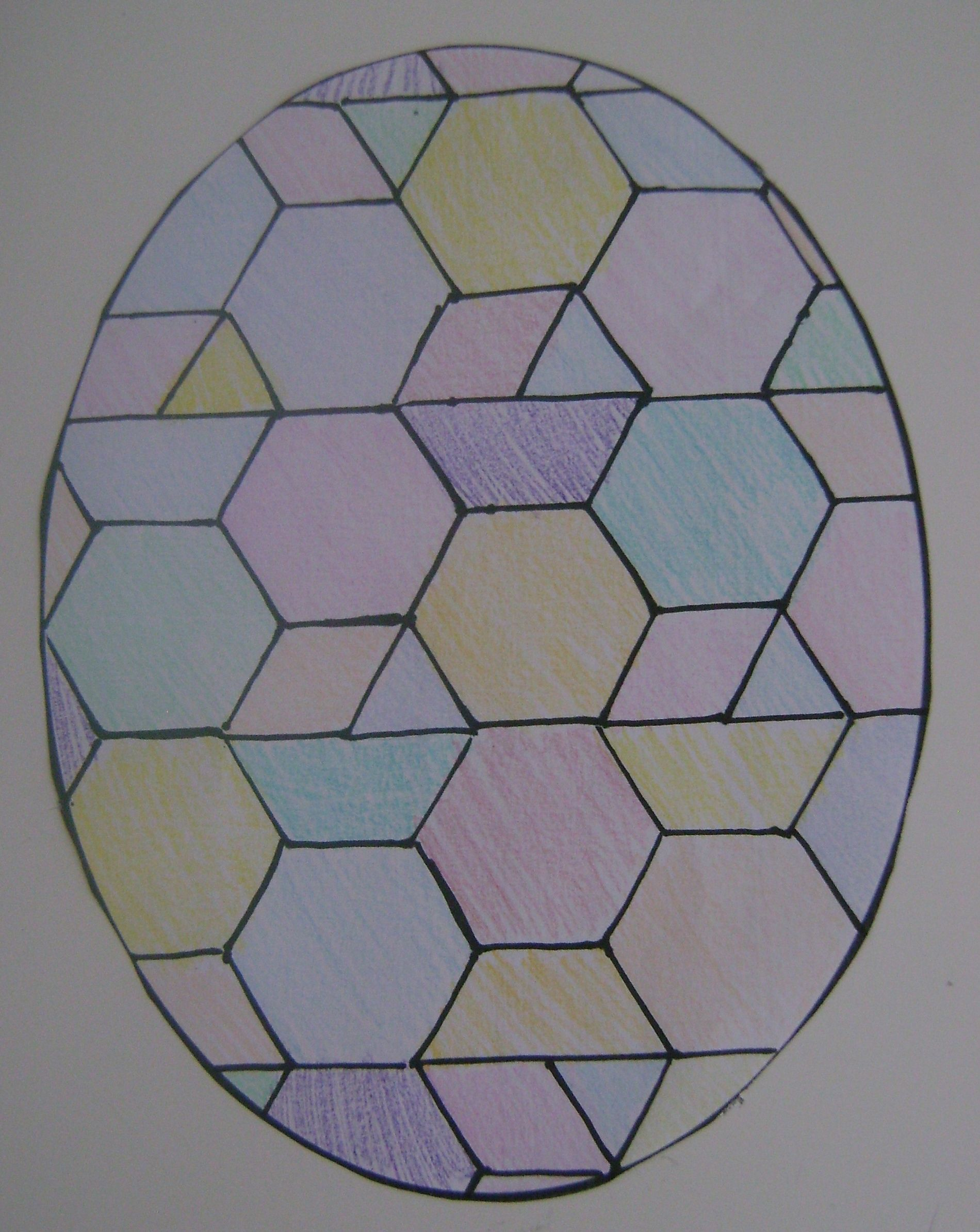 Last Minute Easter Idea Tessellations