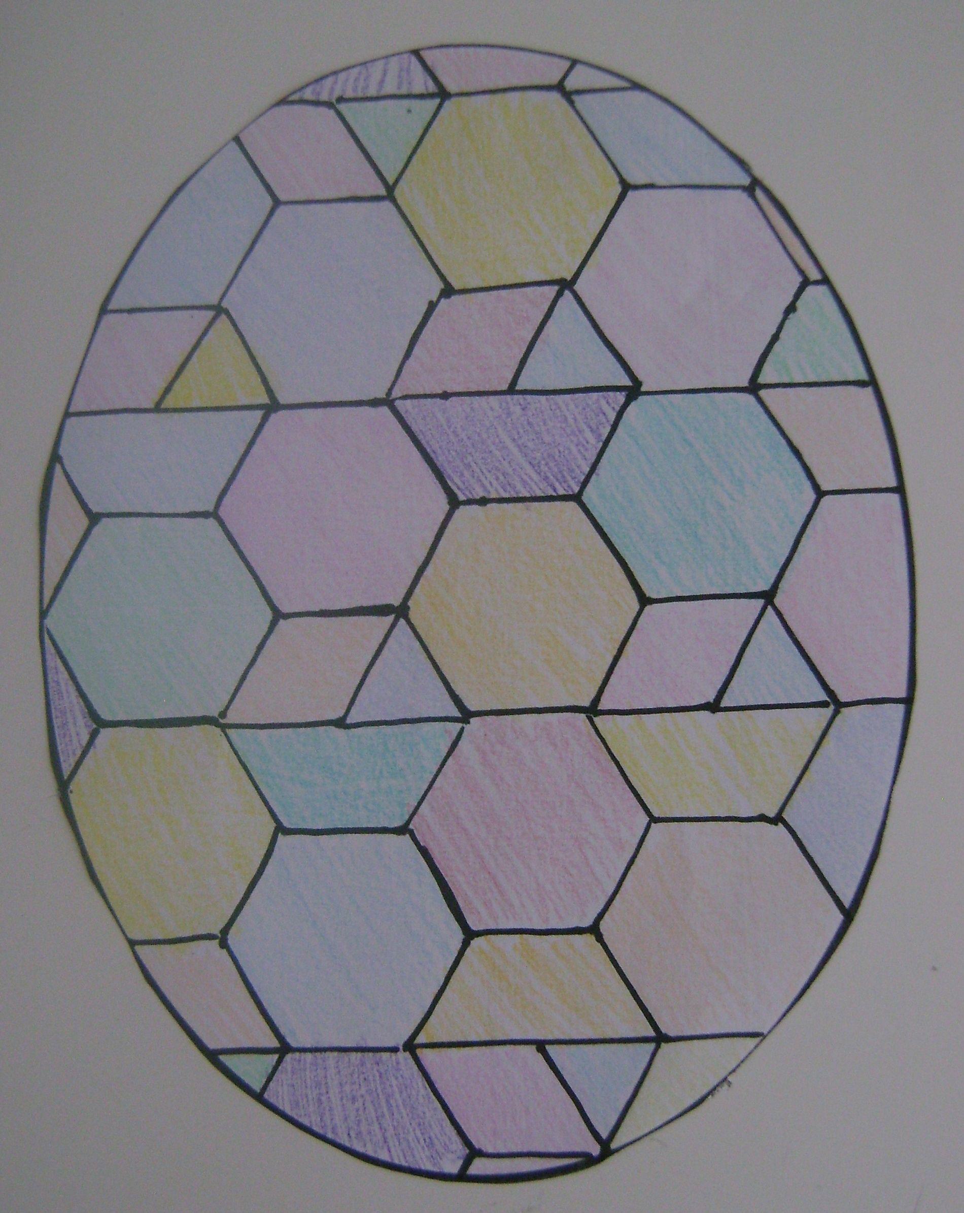 Last Minute Easter Idea Tessellations