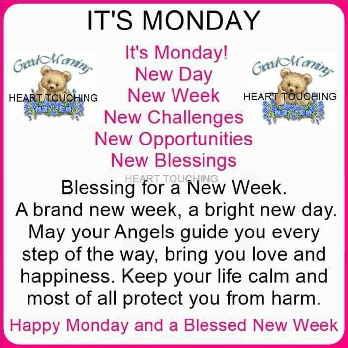 Happy Week Quotes Inspirational: Happy Monday And Blessed New Week Pictures, Photos, And