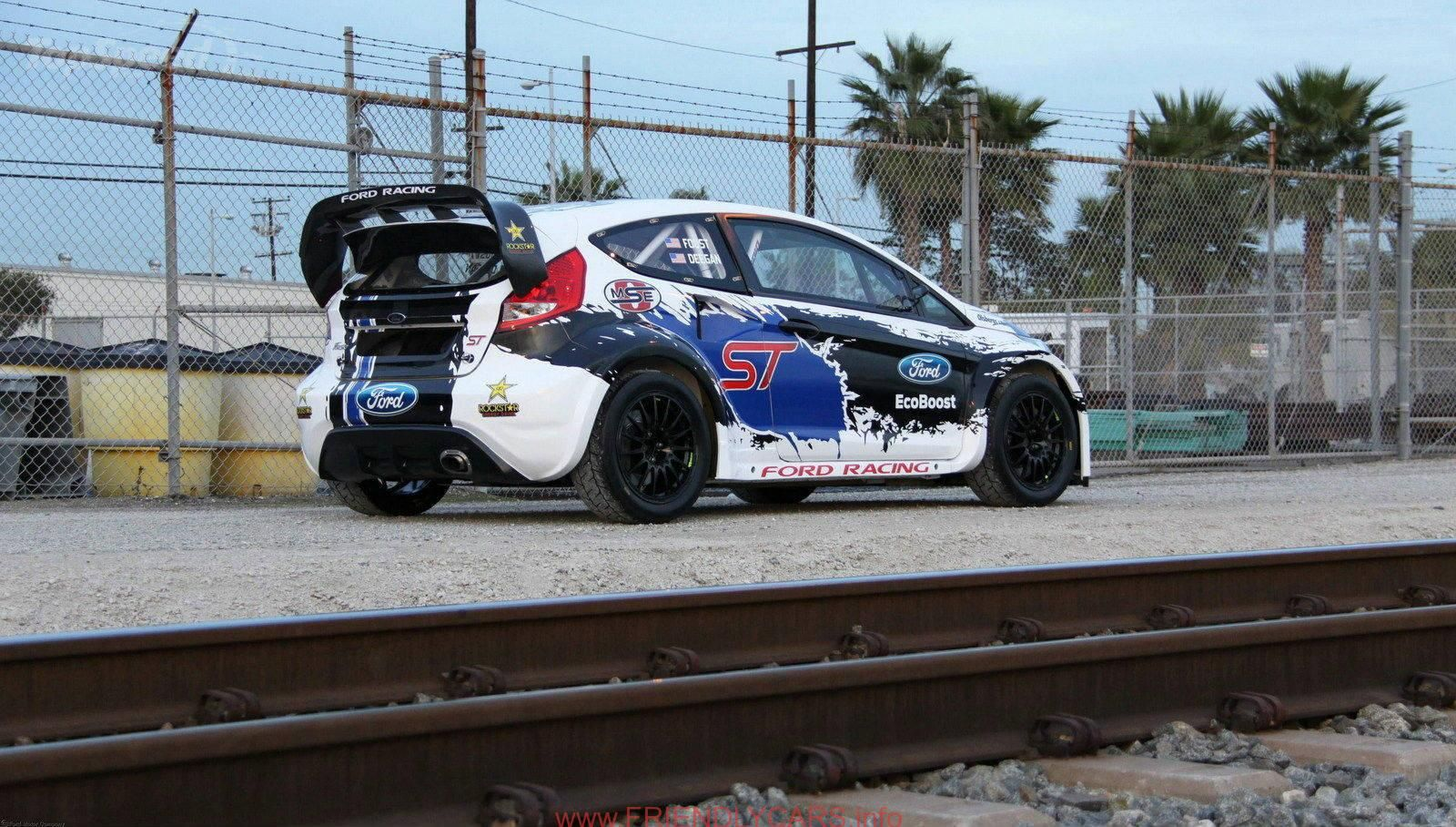 Nice Ford Fiesta St Rally Car Images Hd Ford Fiesta St Gtc The Detroit Rally Starter Super Carros Carros