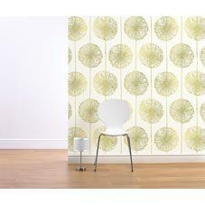 Muriva  Dandelion Wallpaper Green alternative image
